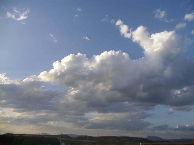 Martes con nubosidad variable y poco cambio de la temperatura