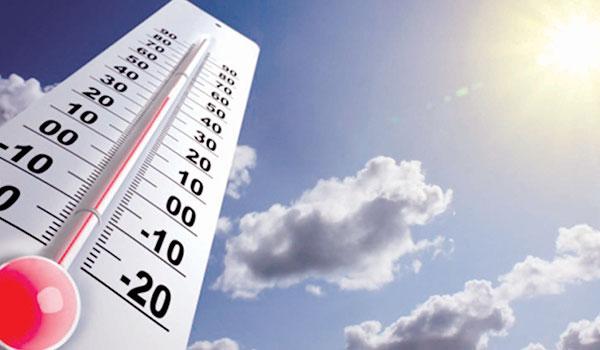 Este martes estará muy caluroso y con vientos leves del noreste
