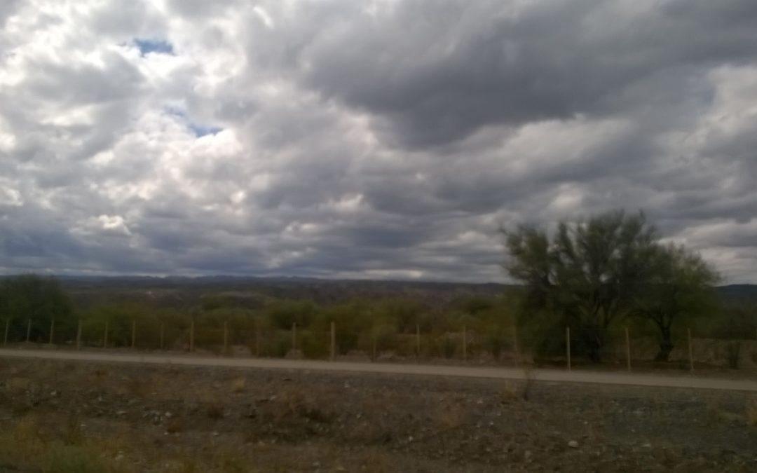 Viernes nublado y probabilidad de precipitaciones