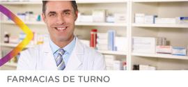 Farmacias de turno del mes de julio