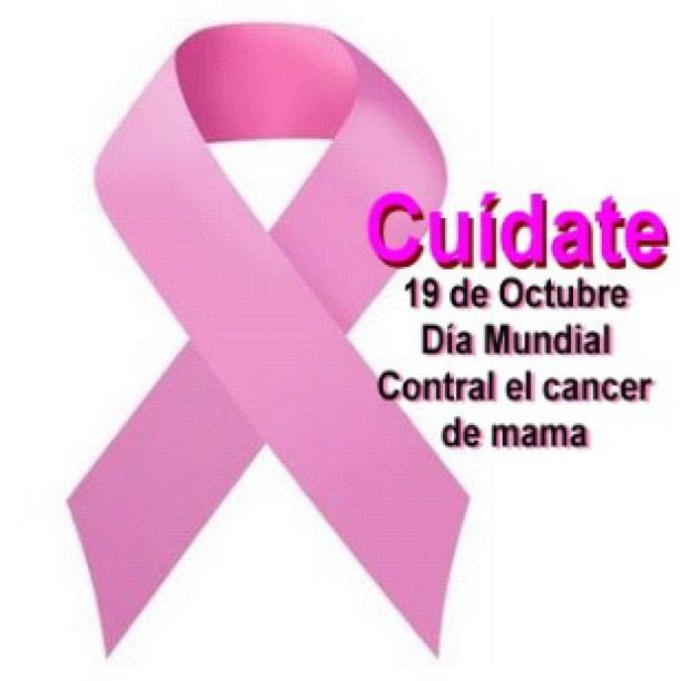 Efemérides: 19 de octubre, Día Mundial de la Lucha contra el Cáncer de Mama