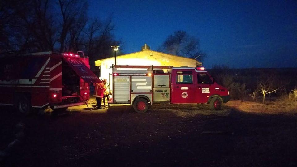 Un hombre falleció tras incendiarse una casa en Lavalle