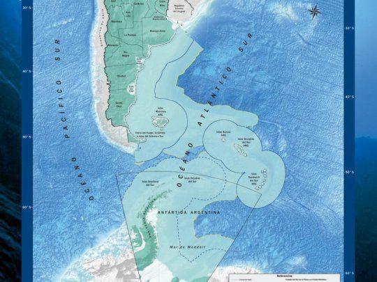 Las escuelas contaran con un nuevo mapa de Argentina