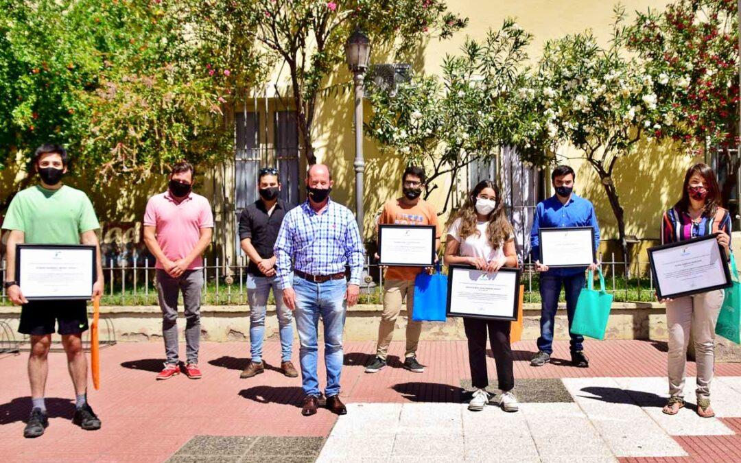 Distinguieron a jóvenes tupungatinos por la destacada participación en la Olimpiada Argentina de Física