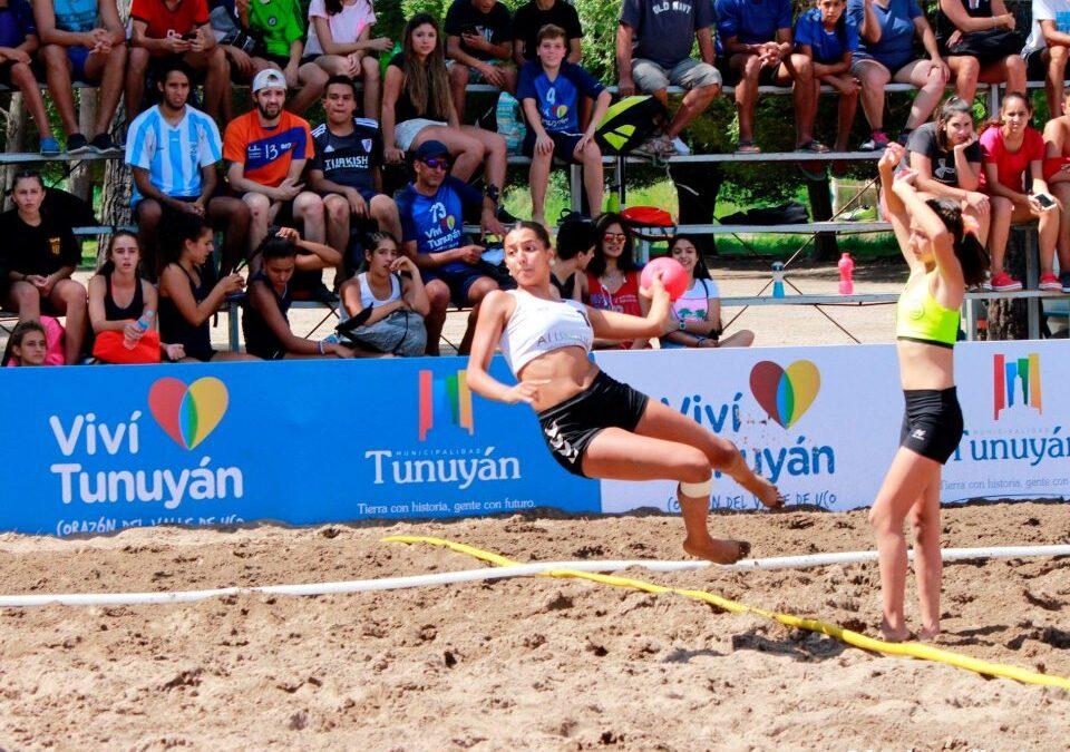 """Este fin de semana se jugará el torneo de Beach Handball """"Copa Ciudad de Tunuyán"""""""
