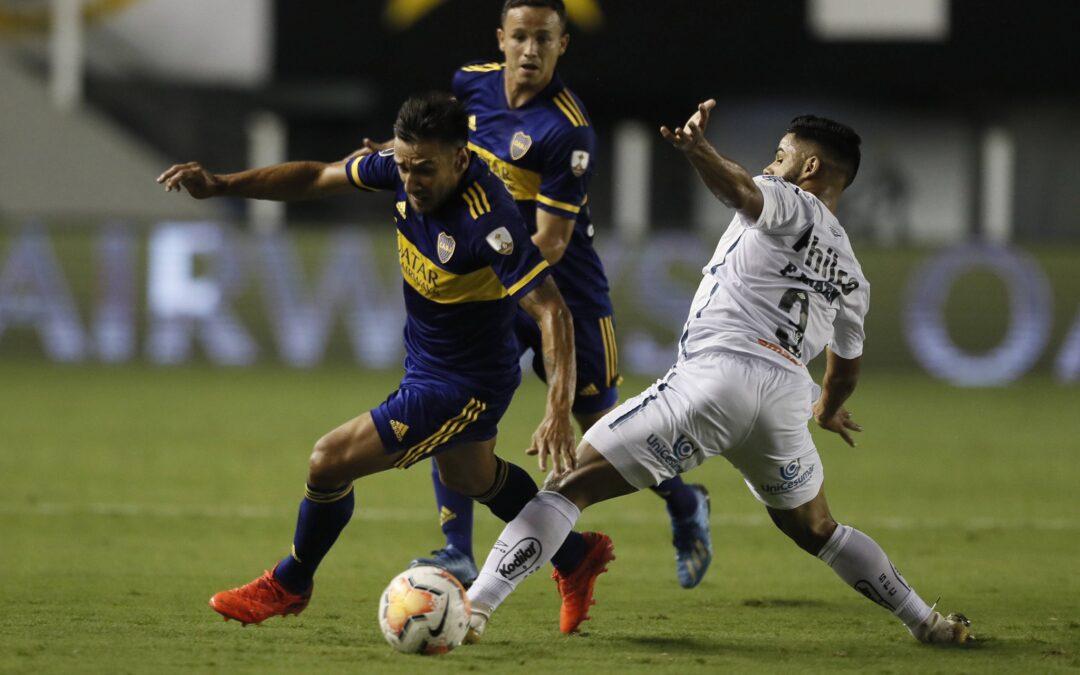 Boca fue goleado en Brasil y quedó afuera de la Copa Libertadores