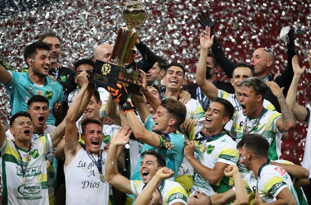 El Halcón voló alto en Brasil y se coronó campeón de la Recopa Sudamericana