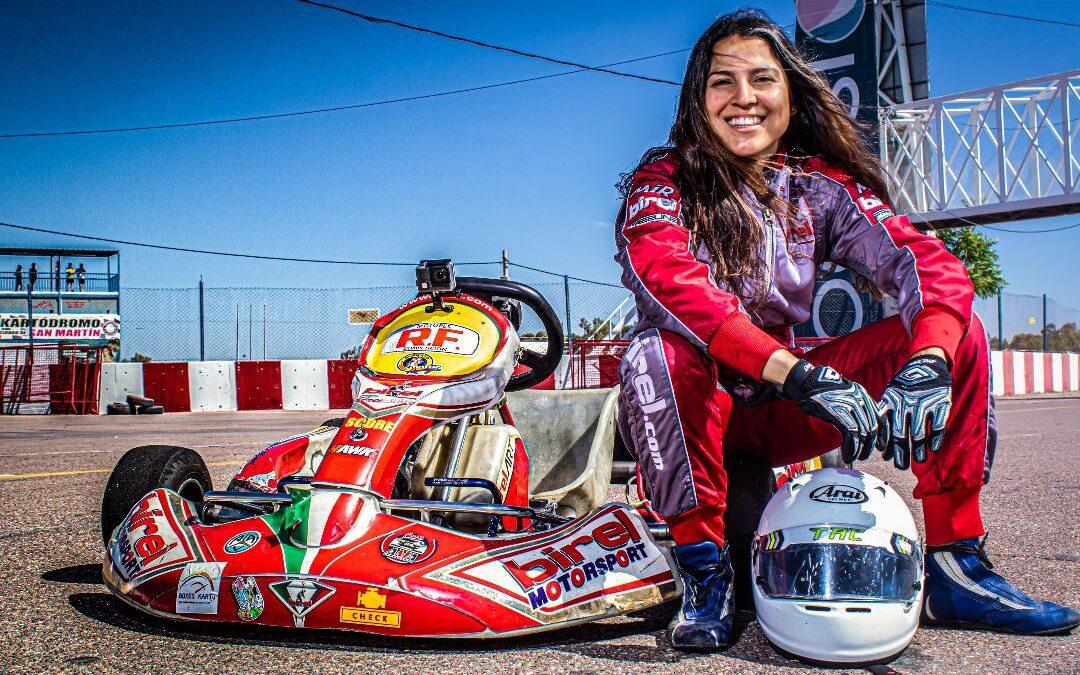 Julieta Gelvez, con el objetivo de debutar este año en la Fórmula 3 Metropolitana