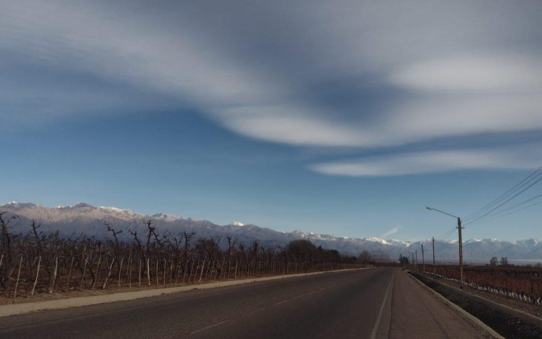 Mendoza: jueves parcialmente nublado con descenso de la temperatura