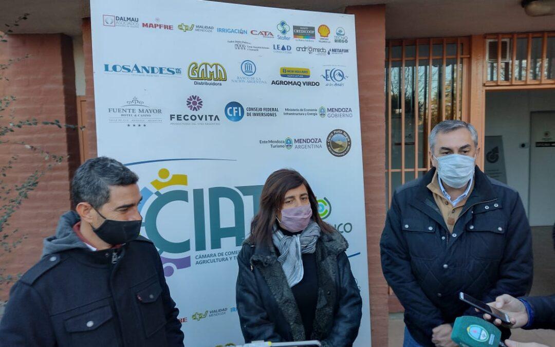Valle de Uco: funcionarios provinciales presentaron el programa Mendoza Activa II