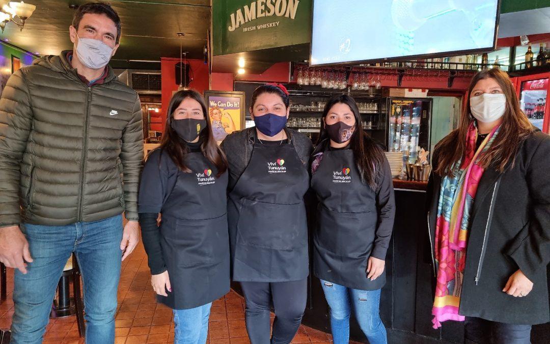 Brindan reconocimiento al personal gastronómico y hotelero de Tunuyán