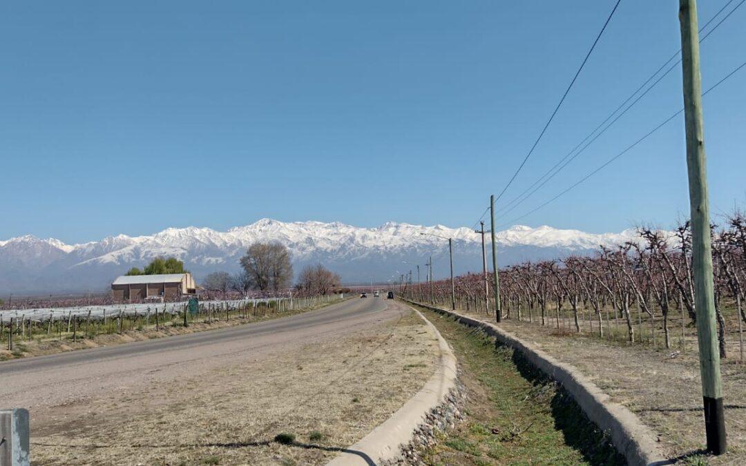 La temperatura máxima superará los 20 grados en la provincia de Mendoza