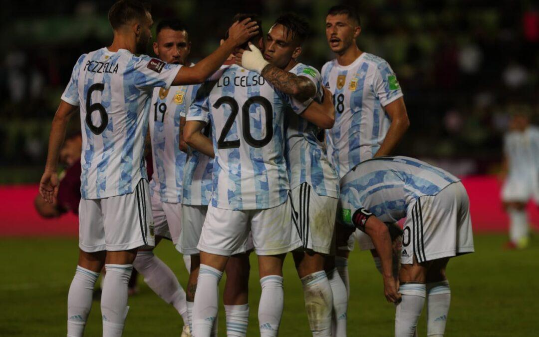 Argentina venció 3-1 a Venezuela por la novena fecha de las Eliminatorias