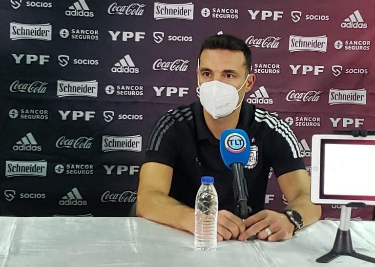 """Lionel Scaloni """"Intentamos realizar el mismo juego que tuvimos en la Copa América"""""""